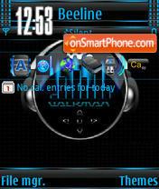 Walkman s60v3 theme screenshot
