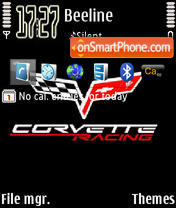 Corvette 04 theme screenshot