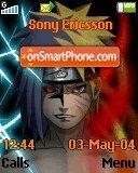 Naruto Vs Saske theme screenshot