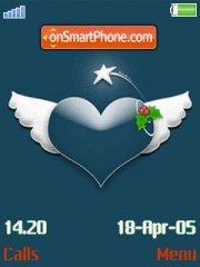 Heart Angel es el tema de pantalla
