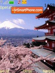 Mountfuji Japan theme screenshot