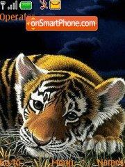 Tiger Cub tema screenshot