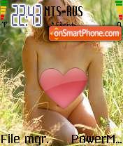 Summer Girl 01 es el tema de pantalla