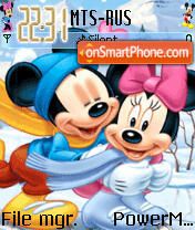 Animated Disney 03 es el tema de pantalla