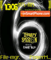 Therapy Session6 es el tema de pantalla