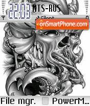 Gray Skull es el tema de pantalla