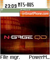 N-GAGE QD theme screenshot