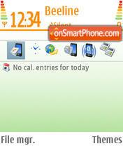 N-Gage theme screenshot