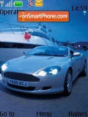 Aston V12 theme screenshot