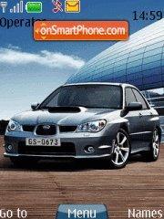 Скриншот темы Subaru