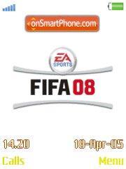 FIFA 08 theme screenshot