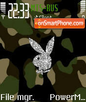 Animated Army Pb theme screenshot
