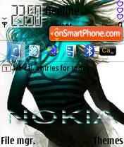 Скриншот темы Noklia 240x320