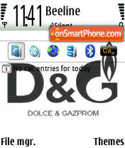 Dg 01 theme screenshot