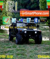 Скриншот темы Hummer 03