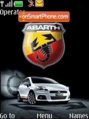 Fiat Abarth theme screenshot