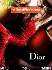 Скриншот темы Dior
