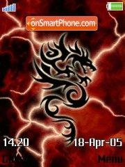 Red Dragon theme screenshot