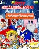 Nintendo Christmas es el tema de pantalla