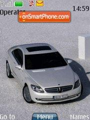 Mercedes CL theme screenshot