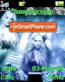 Shakira Hot theme screenshot