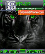 Tiger Black theme screenshot