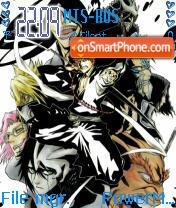 Espada Ichigo theme screenshot