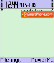 X Plore theme screenshot