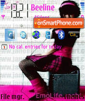 Emo them for OS 9.1 theme screenshot