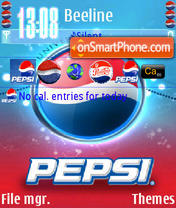 Pepsi Exclu theme screenshot