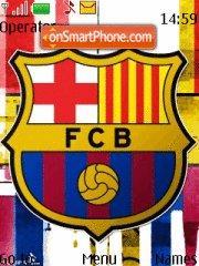 FCBarcelona theme screenshot