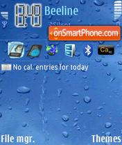 Wet Screen theme screenshot