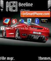 Nitin s f430 theme screenshot
