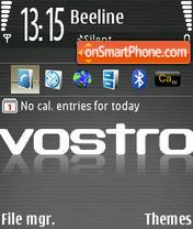 Скриншот темы Vostro st.icons