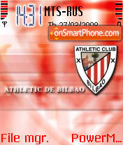 Athletic club theme screenshot