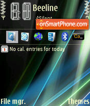 Windows tema screenshot