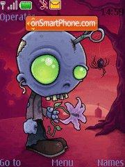 Скриншот темы Zombie Jr