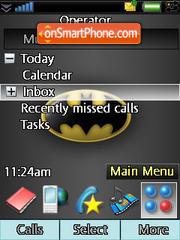Batman Logo theme screenshot