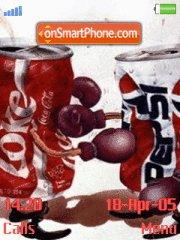 Coca Cola Vs Pepsi theme screenshot