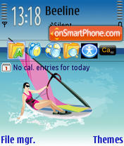 Summer Sea tema screenshot