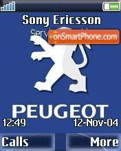Peugeot es el tema de pantalla