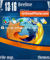 Firefox 10 theme screenshot