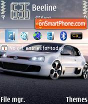 VW Golf GTI Concept W12 theme screenshot
