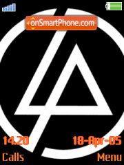 Скриншот темы Linkin Park 06