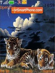 Tiger Cubs es el tema de pantalla