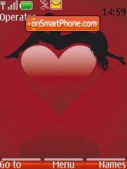 Vector Hearts theme screenshot