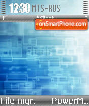 Vaio Adstract theme screenshot