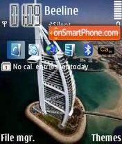 Burj Al Arab Dubai theme screenshot