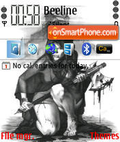 Gerl theme screenshot