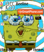 Spongebob theme screenshot
